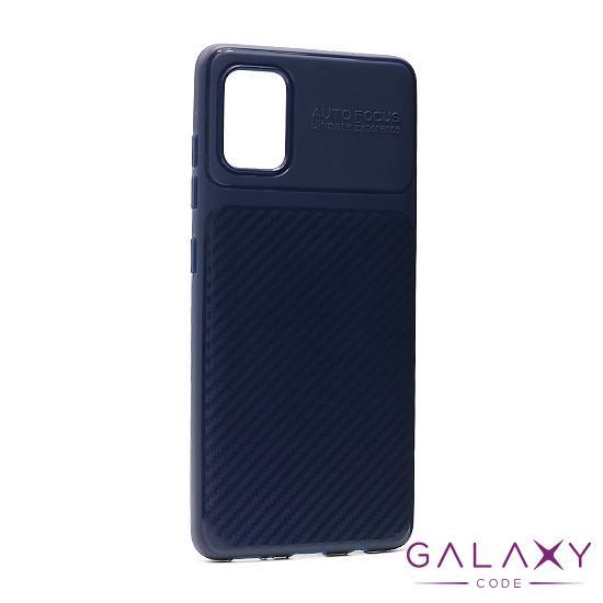 Futrola silikon ELEGANT CARBON za Samsung A415F Galaxy A41 teget