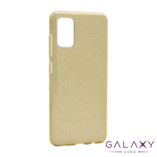 Futrola silikon GLITTER SHOW YOURSELF za Samsung A415F Galaxy A41 zlatna