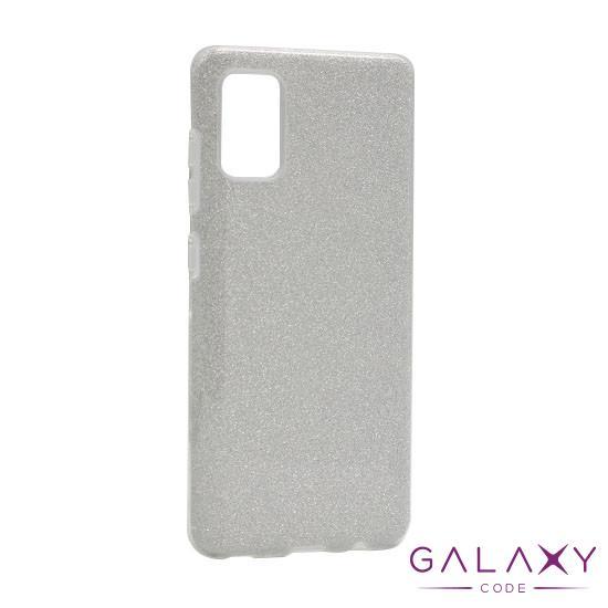 Futrola silikon GLITTER SHOW YOURSELF za Samsung A515 Galaxy A51 srebrna