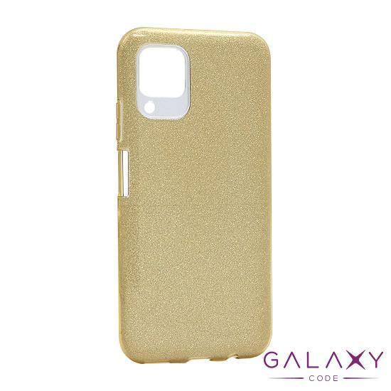 Futrola silikon GLITTER SHOW YOURSELF za Huawei P40 Lite/Nova 6SE zlatna