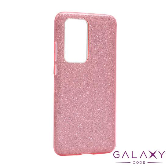 Futrola silikon GLITTER SHOW YOURSELF za Huawei P40 Pro/P40 Pro Plus roze