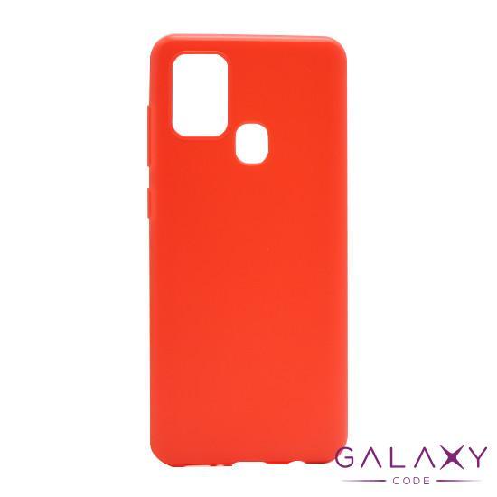 Futrola ULTRA TANKI KOLOR za Samsung A217F Galaxy A21s crvena