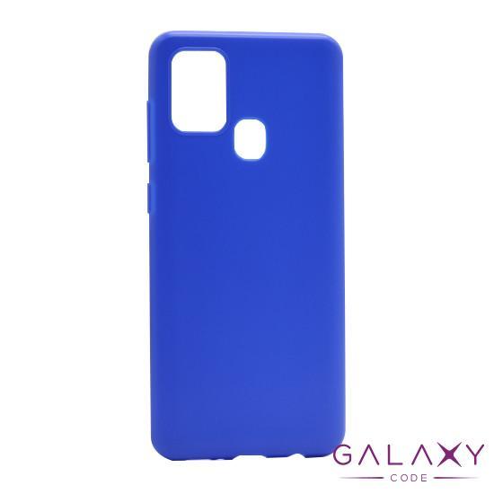 Futrola ULTRA TANKI KOLOR za Samsung A217F Galaxy A21s plava