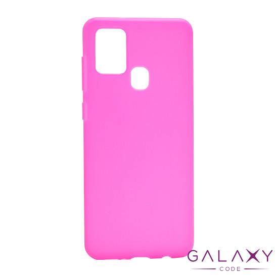 Futrola ULTRA TANKI KOLOR za Samsung A217F Galaxy A21s roze