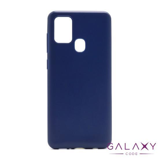 Futrola ULTRA TANKI KOLOR za Samsung A217F Galaxy A21s teget