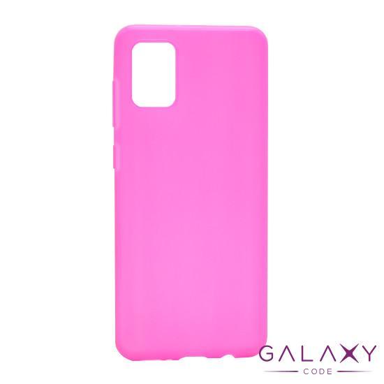 Futrola ULTRA TANKI KOLOR za Samsung A315F Galaxy A31 roze
