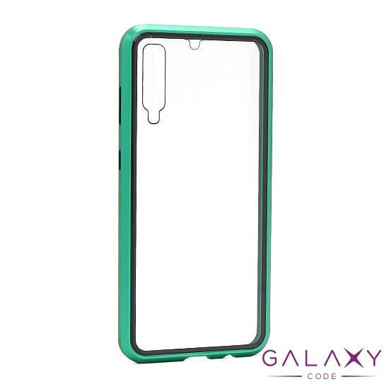 Futrola Full Cover magnetic frame za Samsung A705F/A707F Galaxy A70/A70s zelena