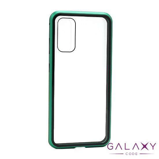 Futrola Full Cover magnetic frame za Samsung G980F Galaxy S20 zelena