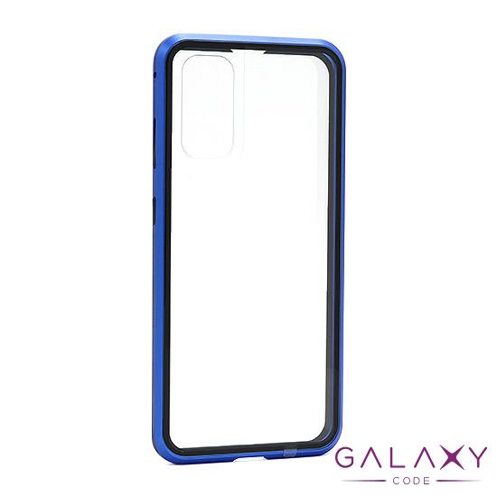 Futrola Full Cover magnetic frame za Samsung G980F Galaxy S20 plava