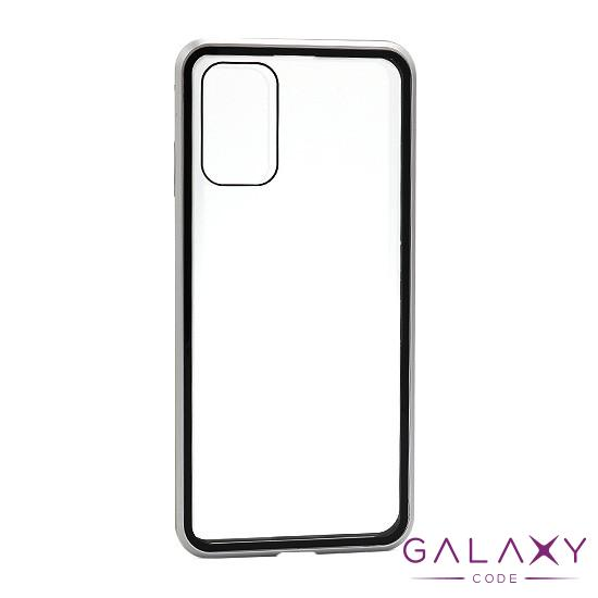 Futrola Full Cover magnetic frame za Samsung G985F Galaxy S20 Plus srebrna