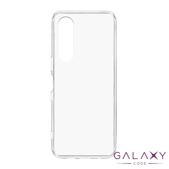 Futrola ULTRA TANKI PROTECT silikon za Sony Xperia 5 providna (bela)