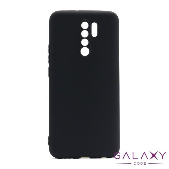Futrola ULTRA TANKI KOLOR za Xiaomi Redmi 9 crna