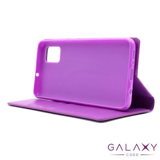 Futrola BI FOLD HANMAN za Samsung A315F Galaxy A31 ljubicasta