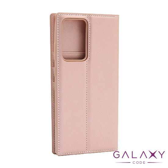 Futrola BI FOLD HANMAN za Samsung Galaxy Note 20 Ultra svetlo roze