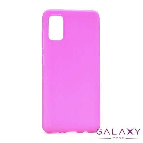 Futrola ULTRA TANKI KOLOR za Samsung A415F Galaxy A41 roze