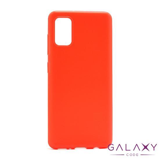 Futrola ULTRA TANKI KOLOR za Samsung A415F Galaxy A41 crvena