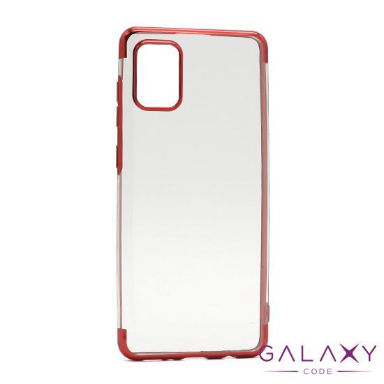 Futrola COLOR EDGE za Samsung A315F Galaxy A31 crvena