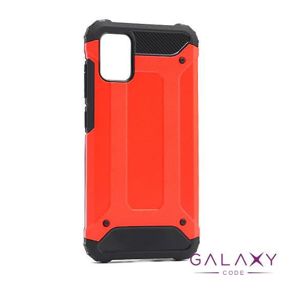 Futrola DEFENDER II za Samsung A515F Galaxy A51 crno-crvena