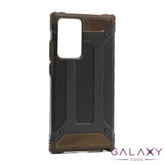 Futrola DEFENDER II za Samsung Galaxy Note 20 Ultra crno-braon