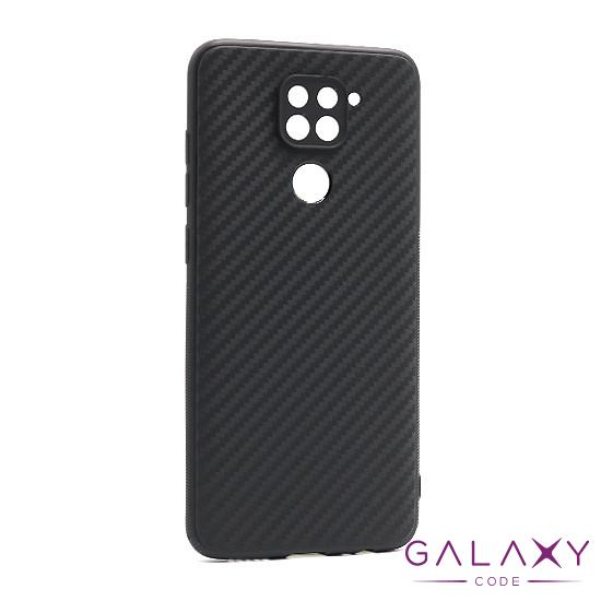 Futrola silikon CARBON LIGHT za Xiaomi Redmi Note 9 crna
