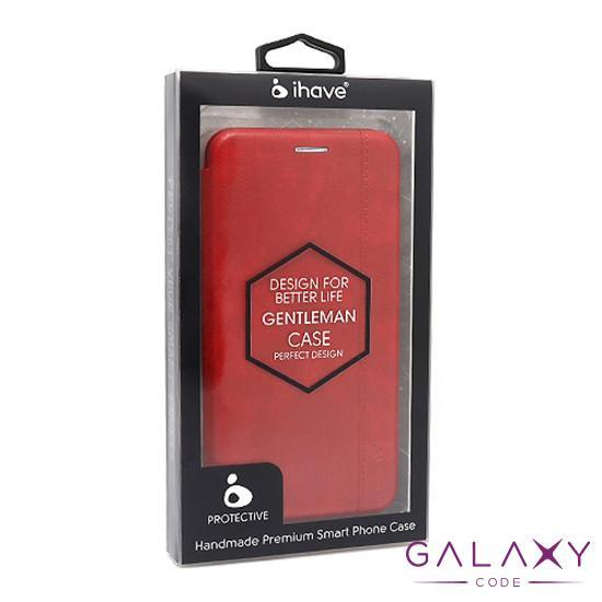 Futrola BI FOLD Ihave Gentleman za Huawei Honor 9A crvena