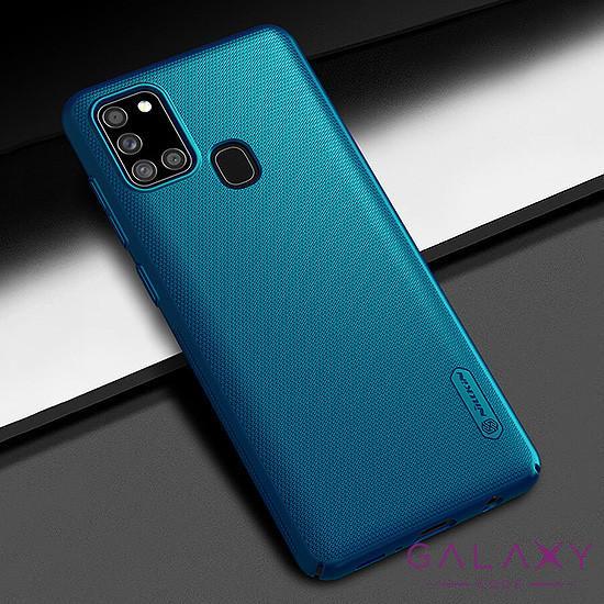 Futrola NILLKIN super frost za Samsung A217F Galaxy A21s plava