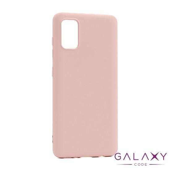 Futrola Smooth za Samsung A41 roze