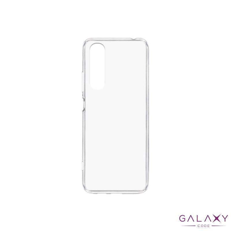Futrola ULTRA TANKI PROTECT silikon za Sony Xperia 1 II providna (bela)