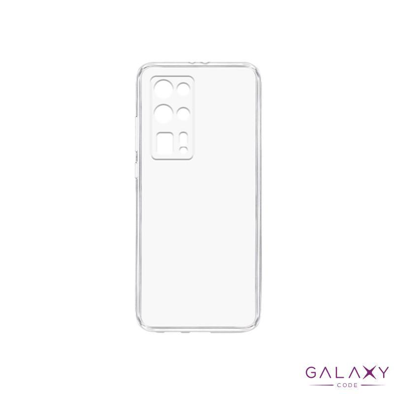 Futrola ULTRA TANKI PROTECT silikon za Huawei P40 Pro Plus providna (bela)