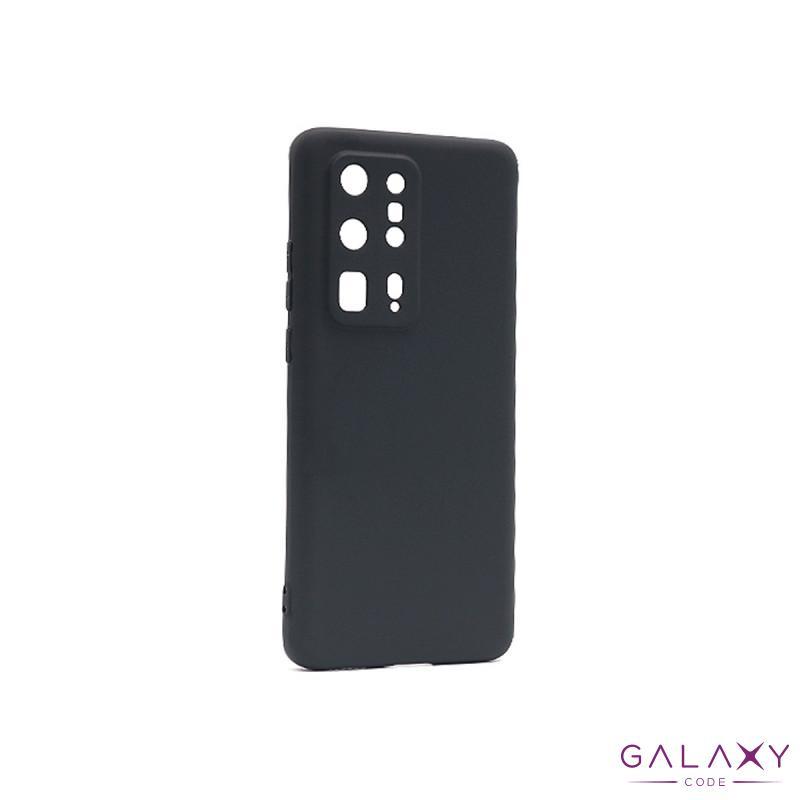 Futrola ULTRA TANKI KOLOR za Huawei P40 Pro Plus crna