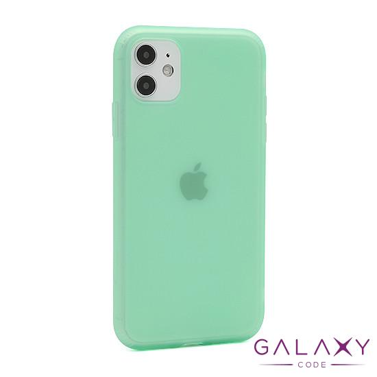 Futrola silikon RUBBER za Iphone 11 svetlo zelena