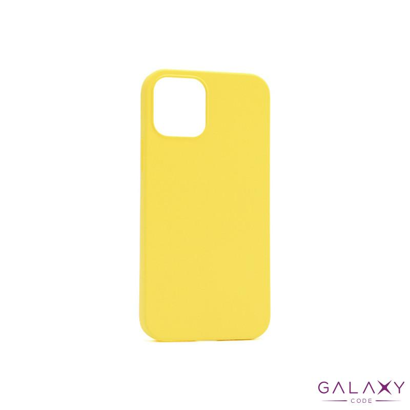 Futrola GENTLE COLOR za Iphone 12/12 Pro (6.1) zuta