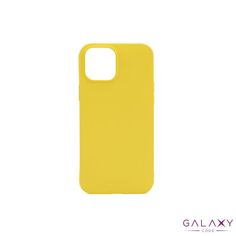 Futrola GENTLE COLOR za Iphone 12 Mini (5.4) zuta