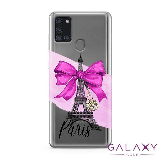 Futrola ULTRA TANKI PRINT CLEAR za Samsung A217F Galaxy A21s ND0084