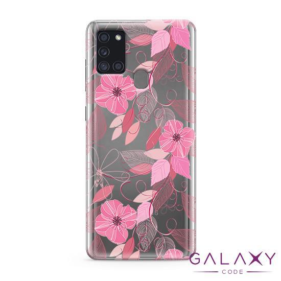 Futrola ULTRA TANKI PRINT CLEAR za Samsung A217F Galaxy A21s ND0094