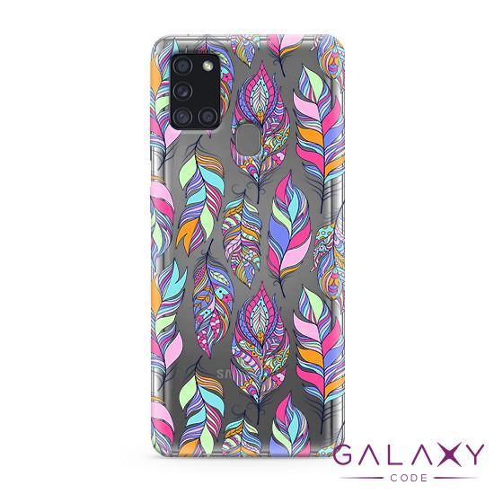 Futrola ULTRA TANKI PRINT CLEAR za Samsung A217F Galaxy A21s ND0099