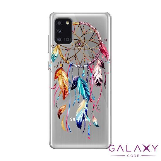 Futrola ULTRA TANKI PRINT CLEAR za Samsung A315F Galaxy A31 ND0080