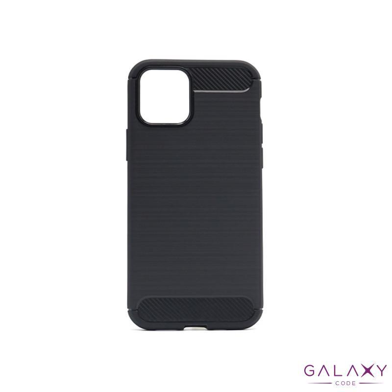 Futrola silikon BRUSHED za Iphone 12/12 Pro (6.1)1 crna