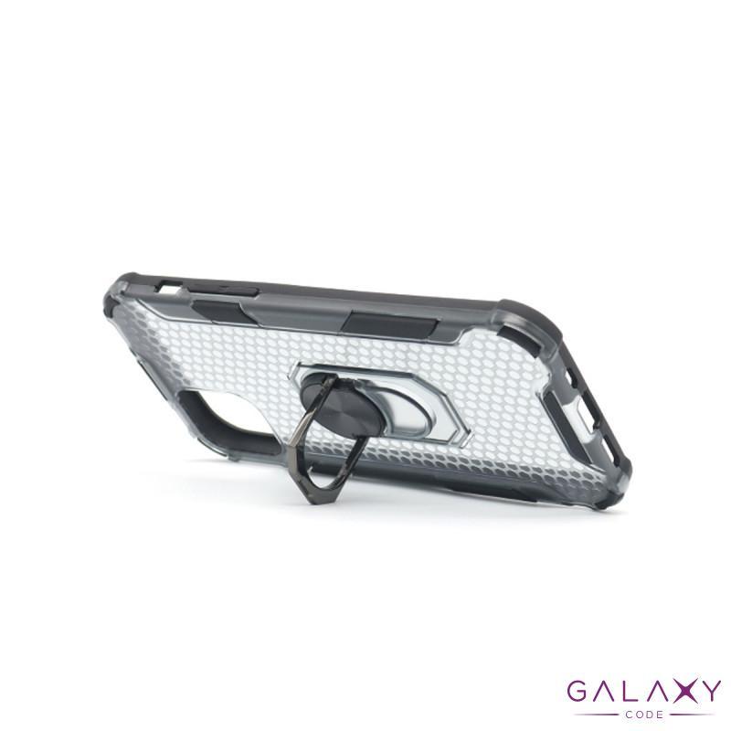 Futrola DEFENDER RING CLEAR za Iphone 12 mini (5.4) crna