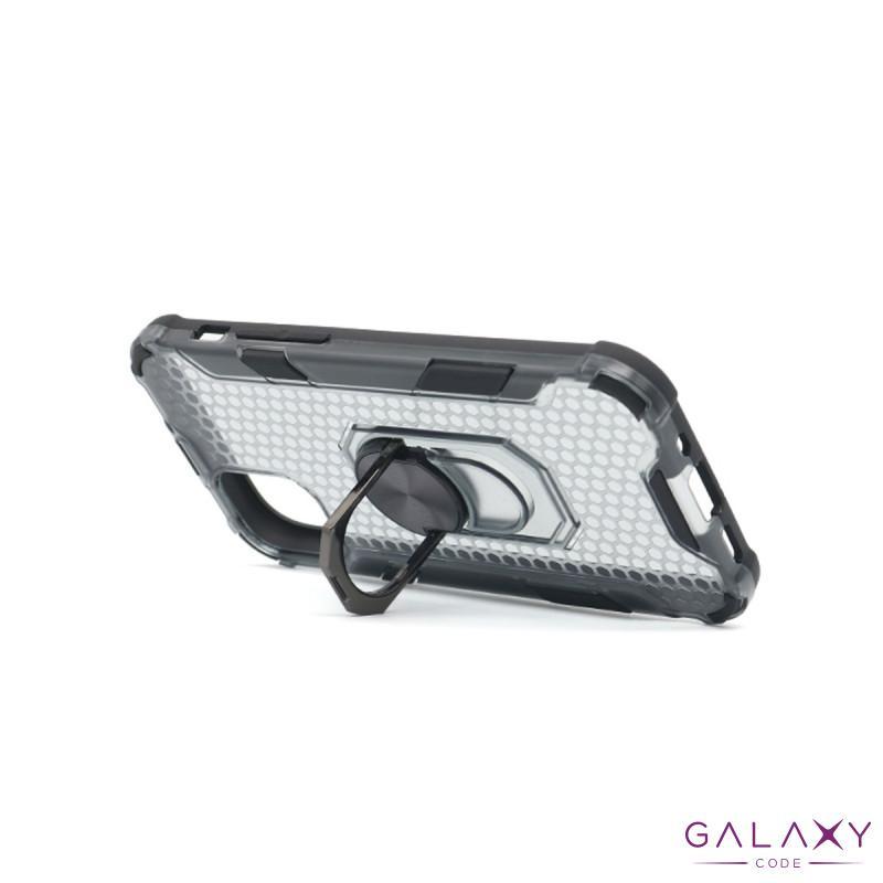 Futrola DEFENDER RING CLEAR za Iphone 12/12 Pro (6.1) crna