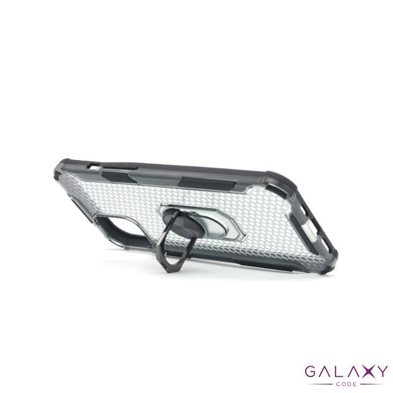 Futrola DEFENDER RING CLEAR za Iphone 12 Pro Max (6.7) crna