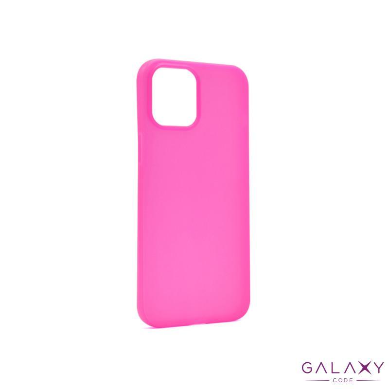 Futrola ULTRA TANKI KOLOR za Iphone 12 Pro Max (6.7) pink