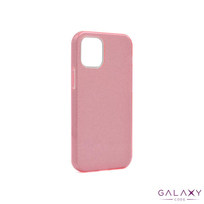 Futrola silikon GLITTER SHOW YOURSELF za Iphone 12 Mini (5.4) roze