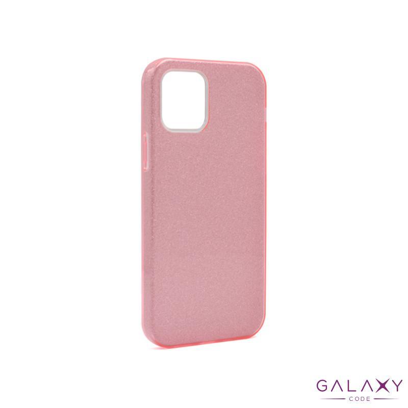Futrola silikon GLITTER SHOW YOURSELF za Iphone 12/12 Pro (6.1) roze