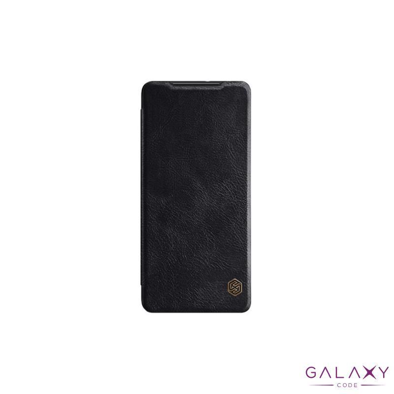 Futrola Nillkin Qin za Samsung G991F Galaxy S21/S30 crna