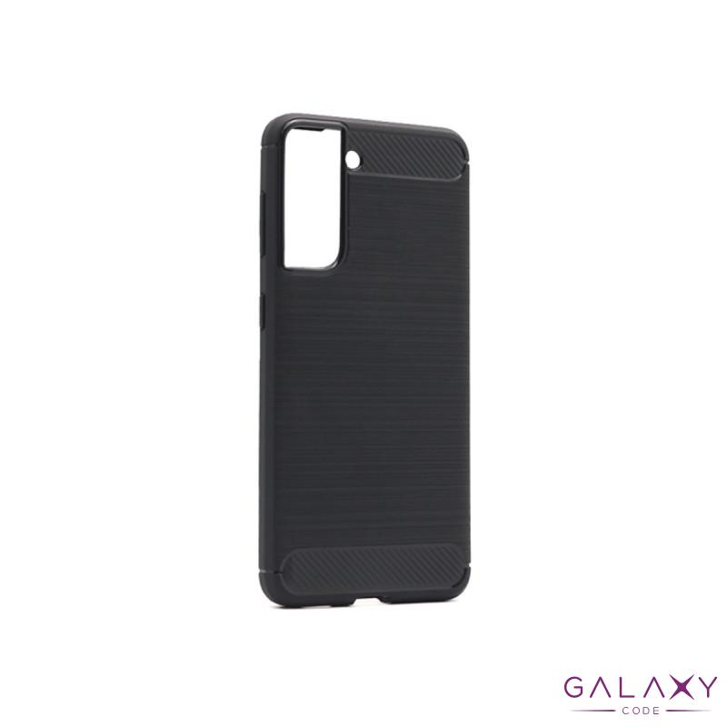 Futrola silikon BRUSHED za Samsung G996F Galaxy S30 Plus/S21 Plus crna