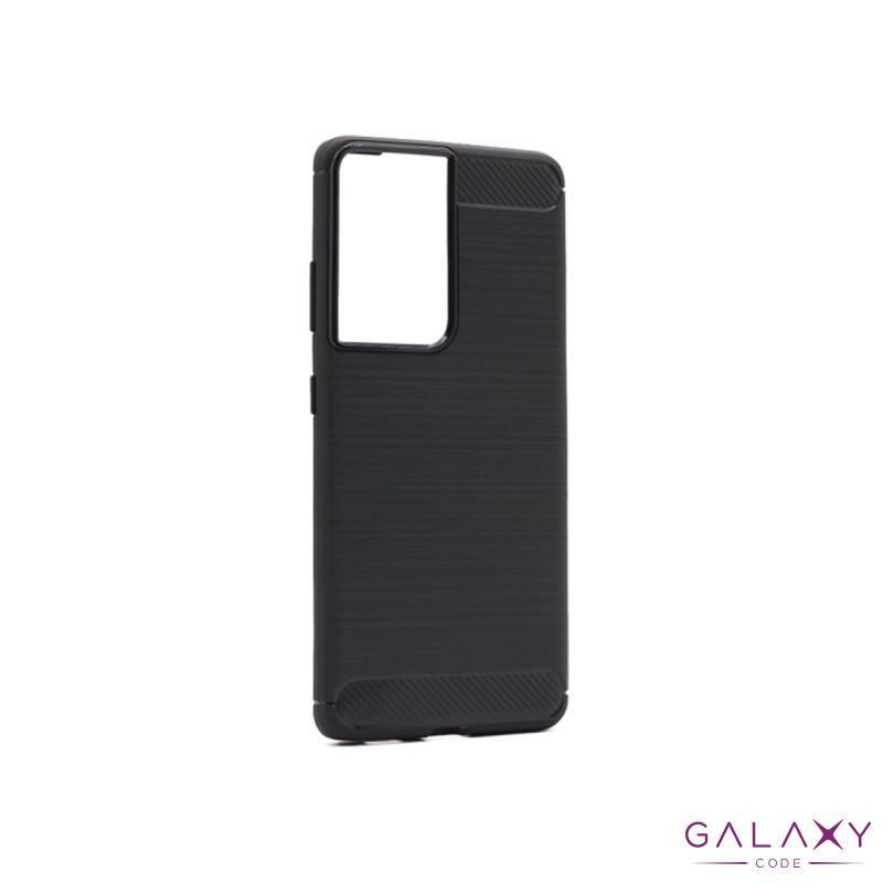Futrola silikon BRUSHED za Samsung G998F Galaxy S30 Ultra/S21 Ultra crna