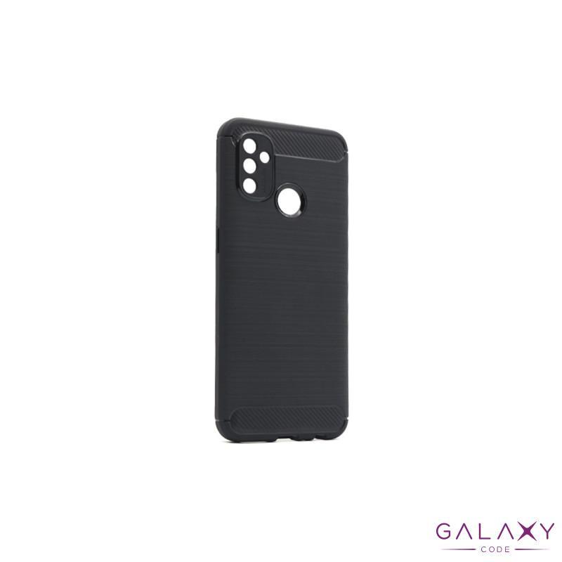 Futrola silikon BRUSHED za OnePlus Nord N100 crna