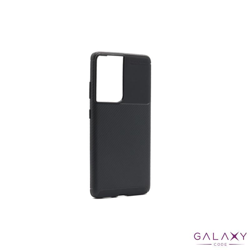 Futrola CARBON za Samsung G998F Galaxy S30 Ultra/S21 Ultra crna