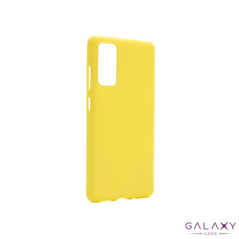 Futrola GENTLE COLOR za Samsung G780F Galaxy S20 FE zuta